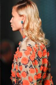 Luxurious Hair – Prada Spring 2012