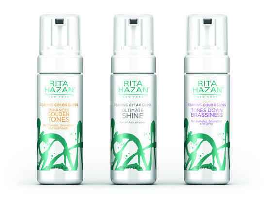 LipGloss for Your Tresses – New Foaming Clear Gloss Ultimate Shine by Rita Hazan