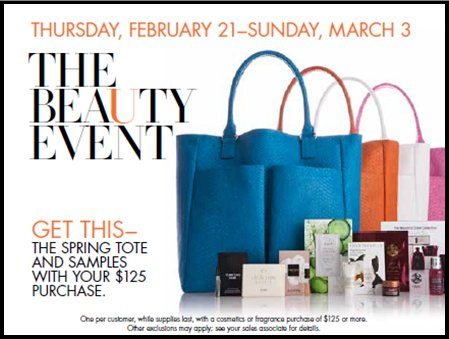 Spring/Summer Makeovers – The Beauty Event at Neiman Marcus