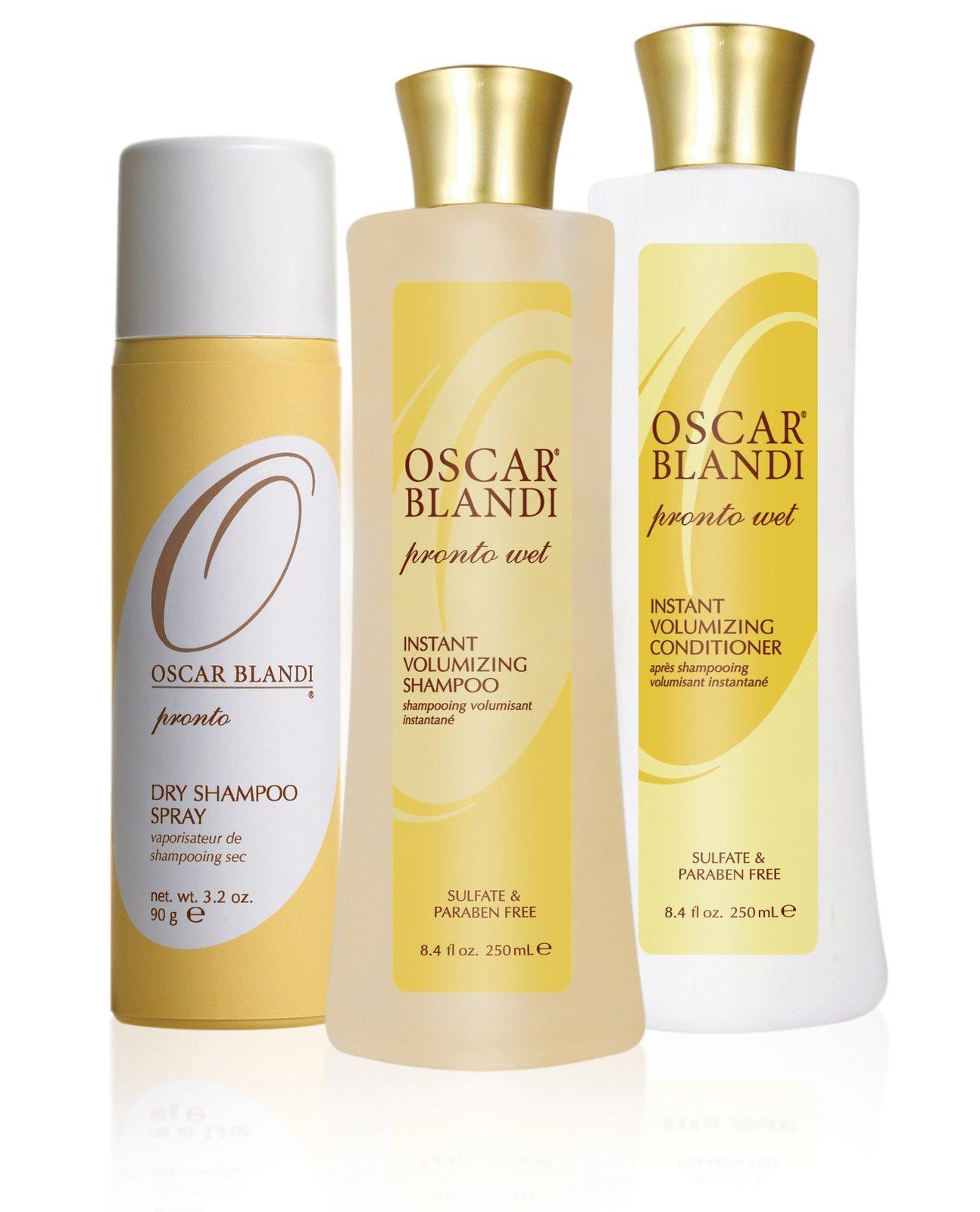 Shampoo without Water – Pronto Dry Shampoo by Oscar Blandi