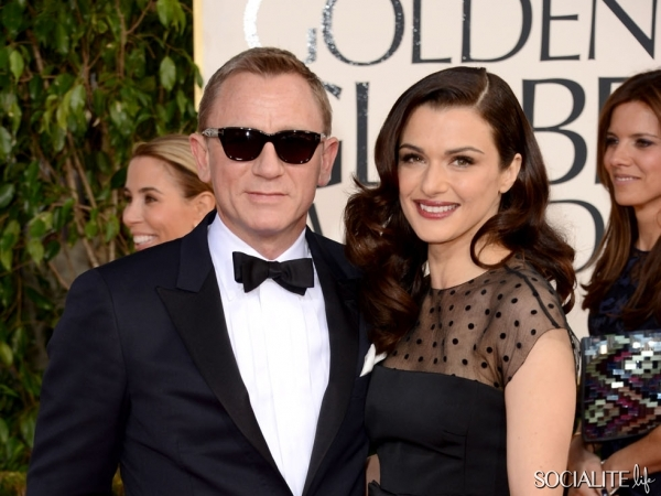 Rachel Weisz's Golden Globes Glow with Joanna Vargas