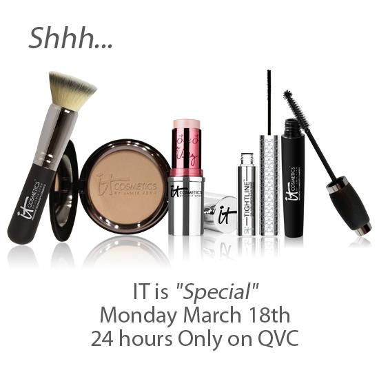 Hello Beautiful – 5 Piece Anti-Aging Color Collection by iT Cosmetic – Special Offer on QVC